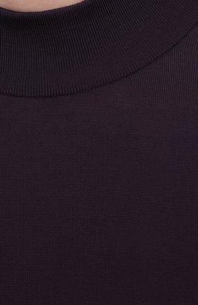 Мужской шерстяная водолазка SVEVO фиолетового цвета, арт. 1314/3SA20/MP13 | Фото 5