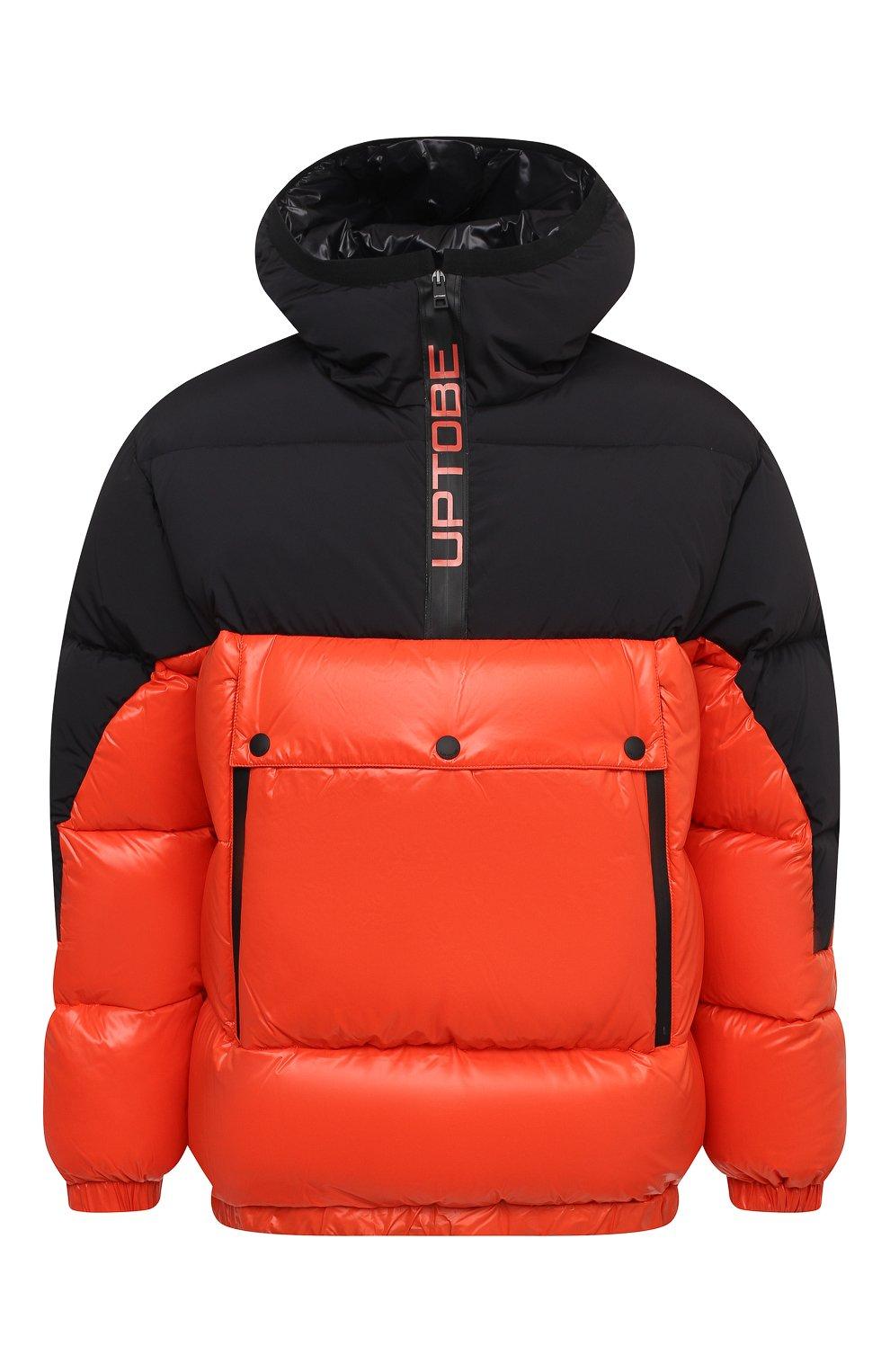 Мужская пуховая куртка UPTOBE красного цвета, арт. UPW0/BALTIM0RA   Фото 1 (Кросс-КТ: Куртка, Пуховик; Мужское Кросс-КТ: пуховик-короткий, Пуховик-верхняя одежда, Верхняя одежда; Рукава: Длинные; Материал внешний: Синтетический материал; Стили: Гранж; Материал подклада: Синтетический материал; Длина (верхняя одежда): Короткие; Материал утеплителя: Пух и перо)