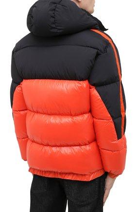Мужская пуховая куртка UPTOBE красного цвета, арт. UPW0/BALTIM0RA   Фото 5 (Кросс-КТ: Куртка, Пуховик; Мужское Кросс-КТ: пуховик-короткий, Пуховик-верхняя одежда, Верхняя одежда; Рукава: Длинные; Материал внешний: Синтетический материал; Стили: Гранж; Материал подклада: Синтетический материал; Длина (верхняя одежда): Короткие; Материал утеплителя: Пух и перо)