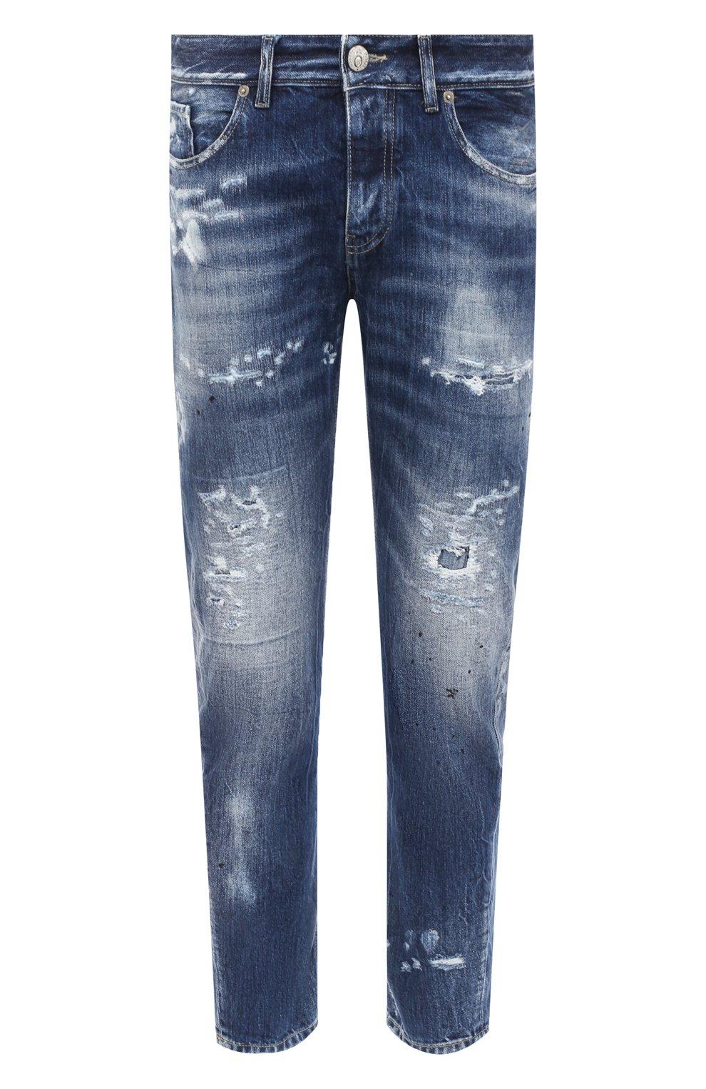Мужские джинсы PREMIUM MOOD DENIM SUPERIOR синего цвета, арт. F21 352740221/BARRET   Фото 1