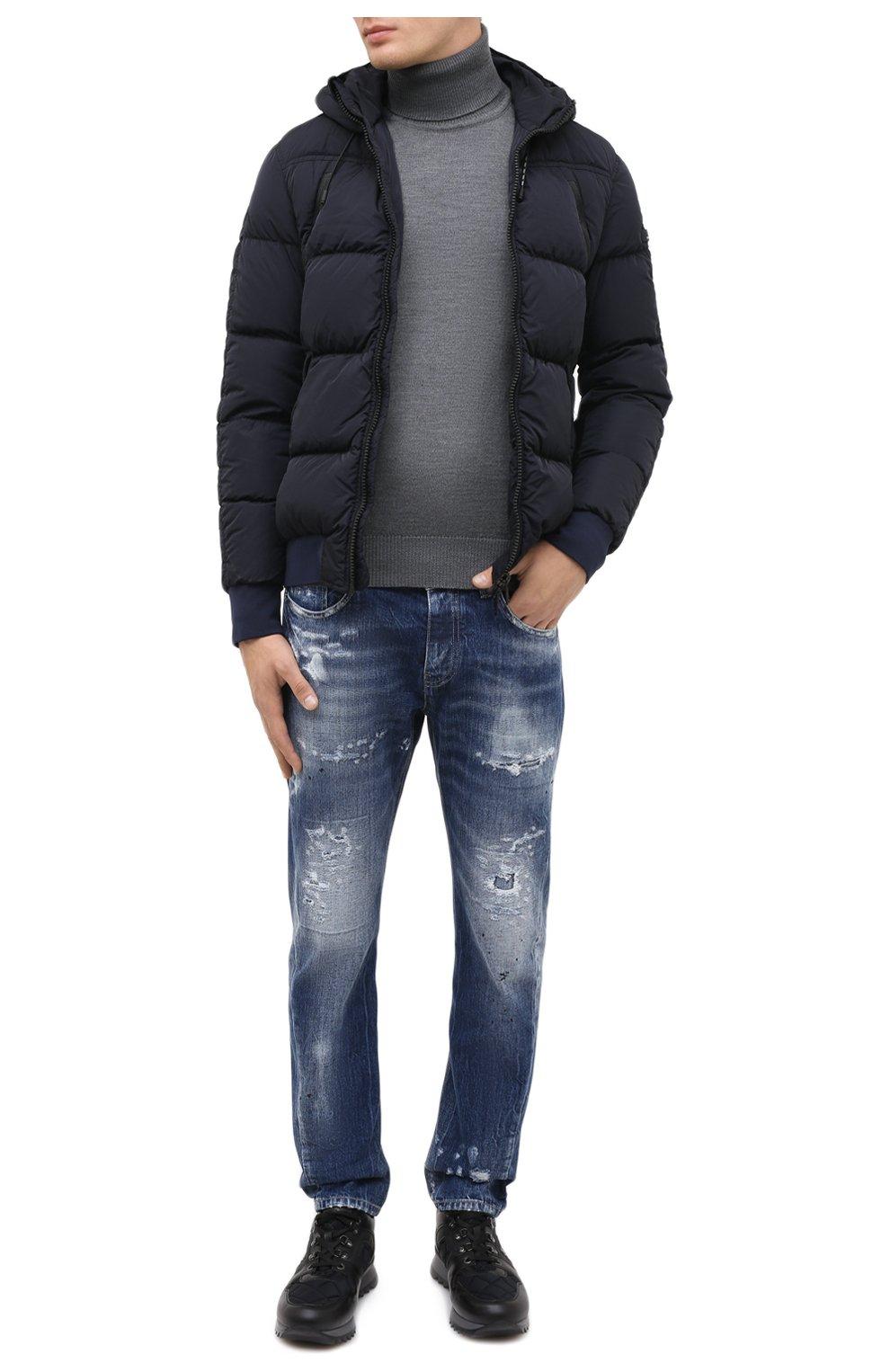 Мужские джинсы PREMIUM MOOD DENIM SUPERIOR синего цвета, арт. F21 352740221/BARRET   Фото 2