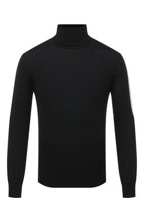 Мужской шерстяная водолазка PREMIUM MOOD DENIM SUPERIOR черного цвета, арт. F21 568MGT02/NISSH0   Фото 1
