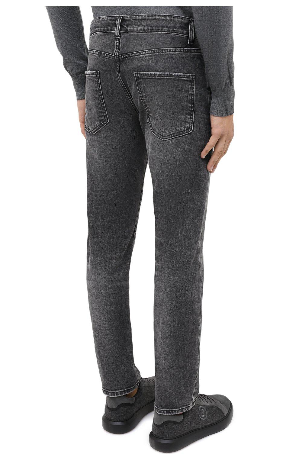 Мужские джинсы PREMIUM MOOD DENIM SUPERIOR серого цвета, арт. F21 0417234651/R0BERT   Фото 4