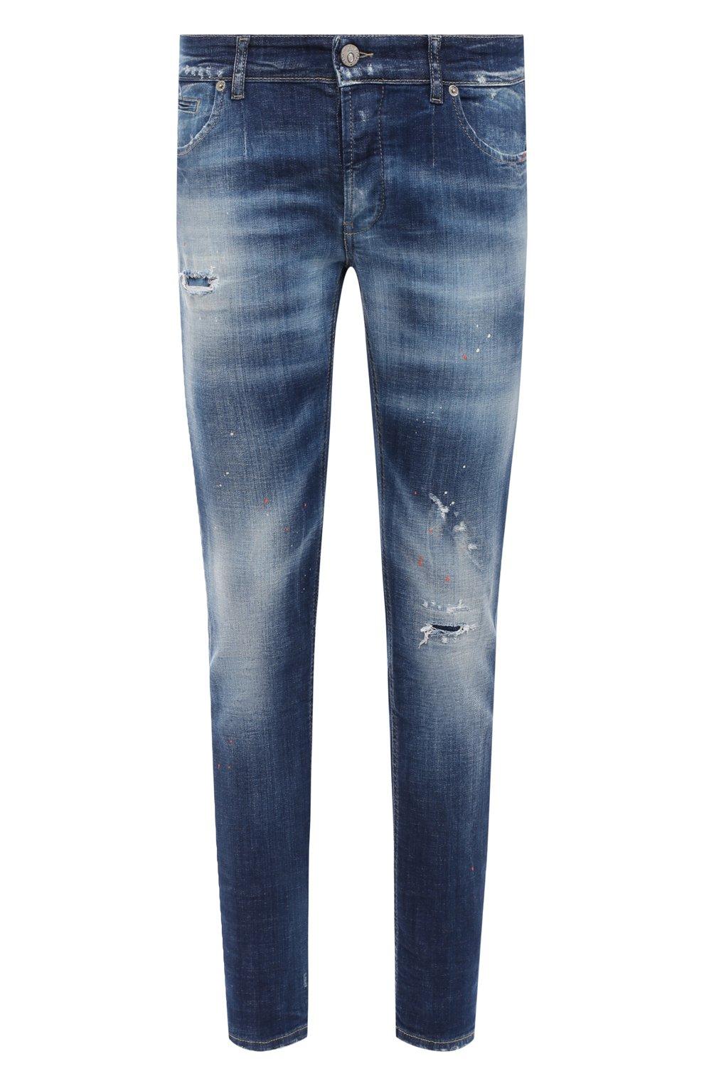 Мужские джинсы PREMIUM MOOD DENIM SUPERIOR синего цвета, арт. F21 347240074/RICHARD   Фото 1