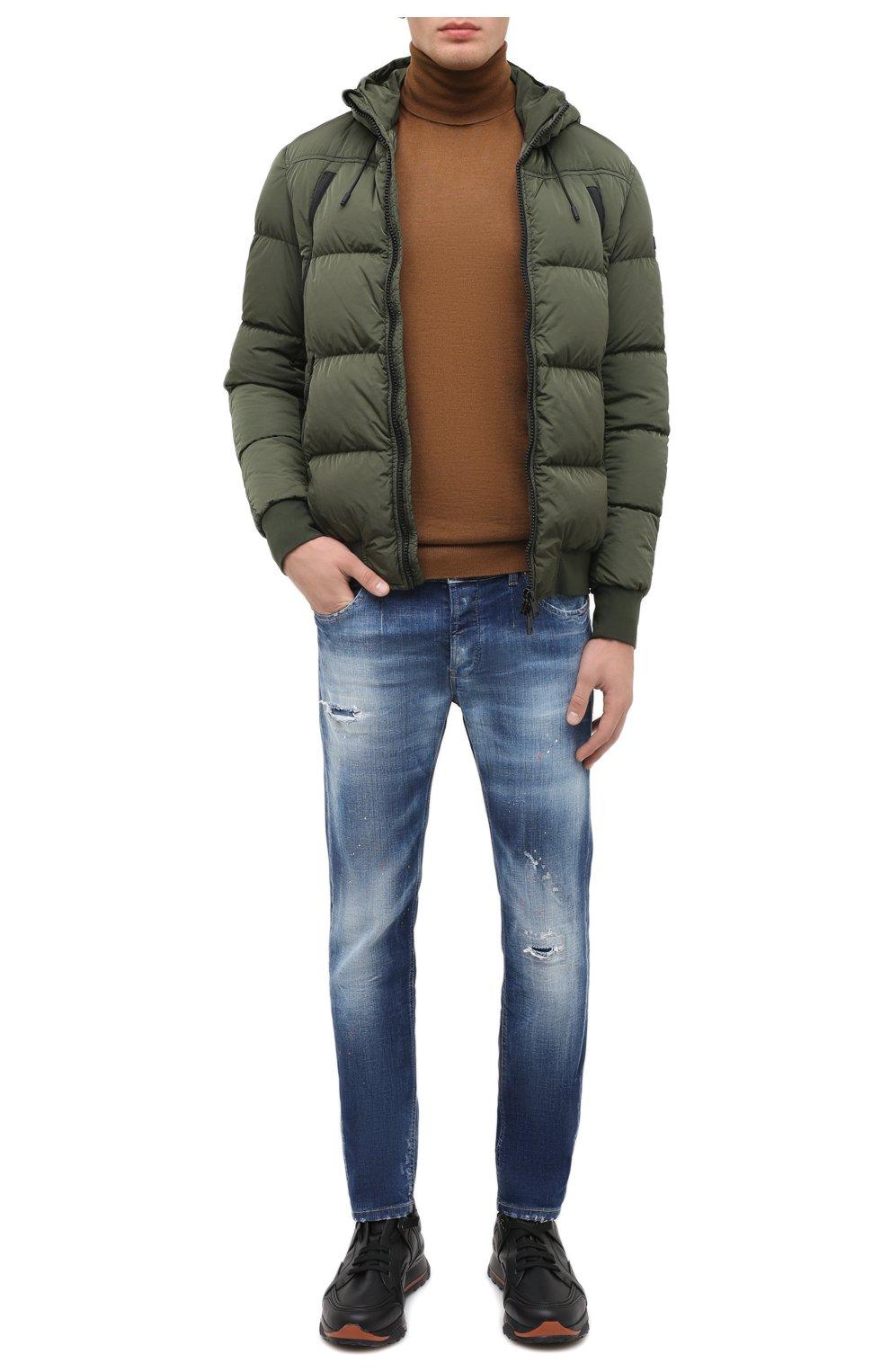 Мужские джинсы PREMIUM MOOD DENIM SUPERIOR синего цвета, арт. F21 347240074/RICHARD   Фото 2