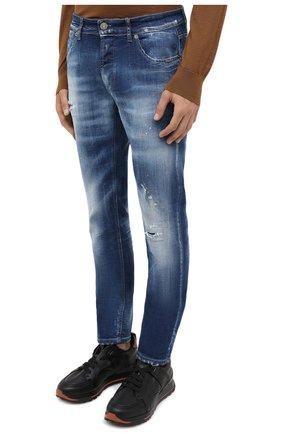Мужские джинсы PREMIUM MOOD DENIM SUPERIOR синего цвета, арт. F21 347240074/RICHARD   Фото 3