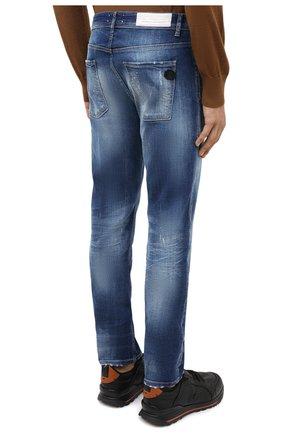 Мужские джинсы PREMIUM MOOD DENIM SUPERIOR синего цвета, арт. F21 347240074/RICHARD   Фото 4