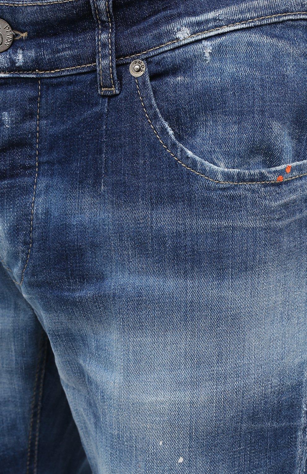 Мужские джинсы PREMIUM MOOD DENIM SUPERIOR синего цвета, арт. F21 347240074/RICHARD   Фото 5