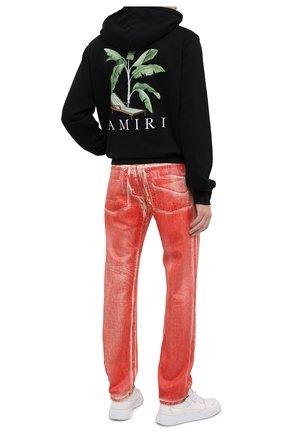 Мужской хлопковое худи AMIRI черного цвета, арт. F0M02216TE | Фото 2