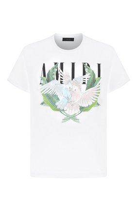 Мужская хлопковая футболка AMIRI белого цвета, арт. F0M03239CJ | Фото 1