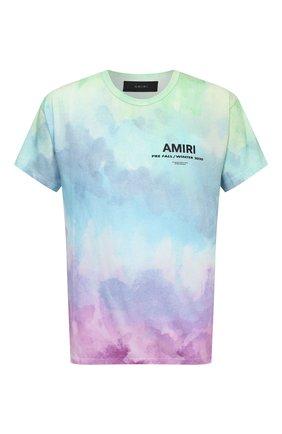 Мужская футболка AMIRI разноцветного цвета, арт. F0M03242CJ | Фото 1