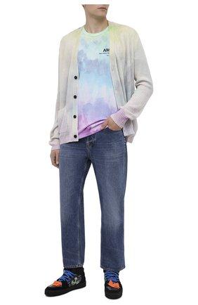 Мужская футболка AMIRI разноцветного цвета, арт. F0M03242CJ | Фото 2