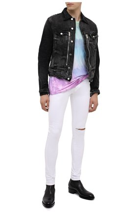 Мужская джинсовая куртка AMIRI черного цвета, арт. F0M04178RD | Фото 3
