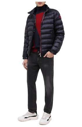 Мужская пуховая куртка 2 moncler 1952 MONCLER GENIUS темно-синего цвета, арт. F2-092-1A527-00-C0643 | Фото 2