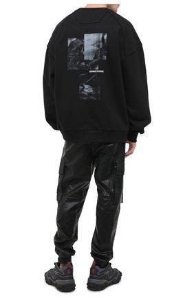 Мужской хлопковый свитшот JUUN.J черного цвета, арт. JC0941P305 | Фото 2