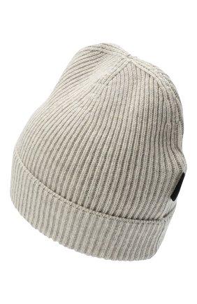 Мужская кашемировая шапка TOM FORD светло-серого цвета, арт. BVK88/TFK800 | Фото 2