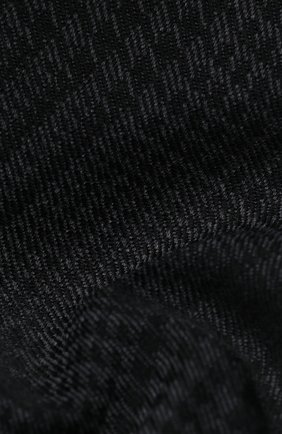 Мужской шерстяной шарф TOM FORD темно-серого цвета, арт. 8TF140/2FD | Фото 2 (Материал: Шерсть)