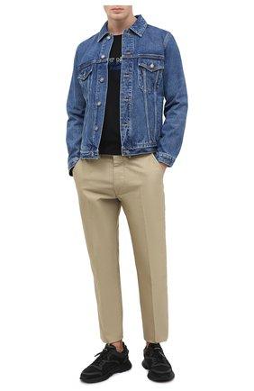 Мужская джинсовая куртка GIVENCHY синего цвета, арт. BM00CY50G3 | Фото 2