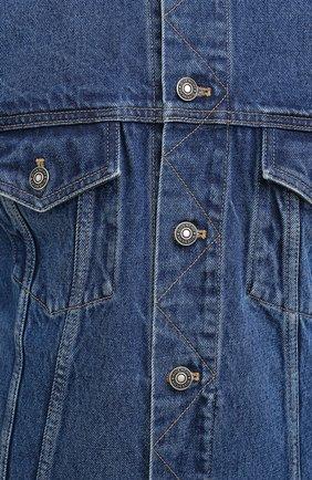 Мужская джинсовая куртка GIVENCHY синего цвета, арт. BM00CY50G3 | Фото 6