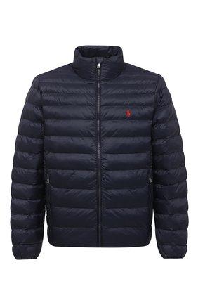 Мужская утепленная куртка POLO RALPH LAUREN темно-синего цвета, арт. 710810897 | Фото 1