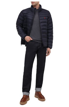 Мужская утепленная куртка POLO RALPH LAUREN темно-синего цвета, арт. 710810897 | Фото 2
