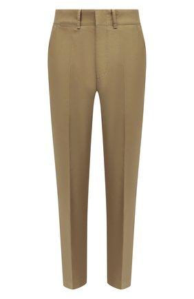 Мужской хлопковые брюки TOM FORD бежевого цвета, арт. BV141/TFP224 | Фото 1