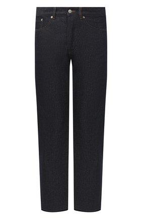 Мужские джинсы DRIES VAN NOTEN синего цвета, арт. 202-22409-1385 | Фото 1