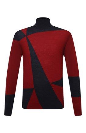 Мужской шерстяная водолазка EMPORIO ARMANI красного цвета, арт. 6H1MXD/1MIXZ   Фото 1
