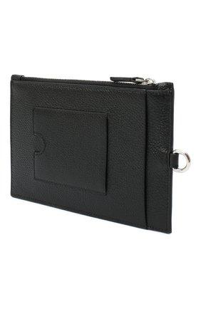 Мужской кожаный кошелек для монет BALENCIAGA черного цвета, арт. 616015/1IZI3 | Фото 2