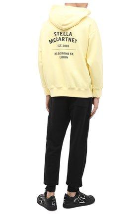 Мужской хлопковое худи STELLA MCCARTNEY желтого цвета, арт. 601846/SMP83 | Фото 2