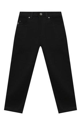 Детские джинсы EMPORIO ARMANI черного цвета, арт. 6H4J45/4N4WZ | Фото 1