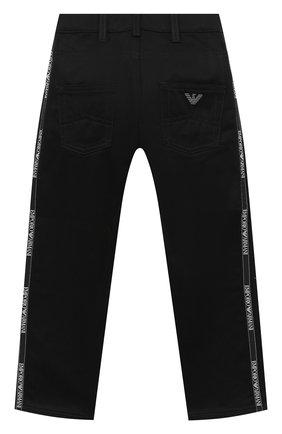 Детские джинсы EMPORIO ARMANI черного цвета, арт. 6H4J45/4N4WZ | Фото 2