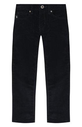 Детские джинсы EMPORIO ARMANI синего цвета, арт. 6H4J06/4N4TZ | Фото 1
