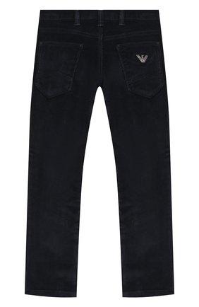 Детские джинсы EMPORIO ARMANI синего цвета, арт. 6H4J06/4N4TZ | Фото 2