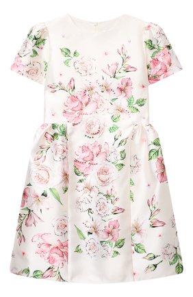 Детское платье EIRENE белого цвета, арт. 202118   Фото 1