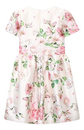 Детское платье EIRENE белого цвета, арт. 202118   Фото 2