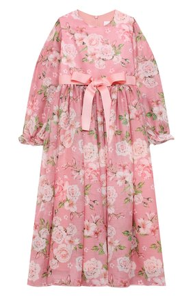Детское платье EIRENE розового цвета, арт. 202121   Фото 1