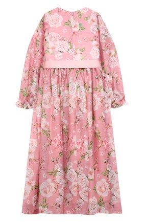 Детское платье EIRENE розового цвета, арт. 202121   Фото 2