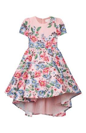 Детское платье EIRENE розового цвета, арт. 202131   Фото 1