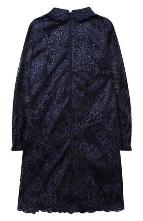 Детское платье EIRENE темно-синего цвета, арт. 202155   Фото 2