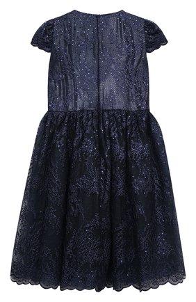 Детское платье EIRENE темно-синего цвета, арт. 202156   Фото 2
