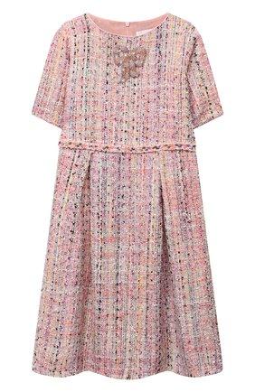 Детское твидовое платье EIRENE разноцветного цвета, арт. 202166   Фото 1