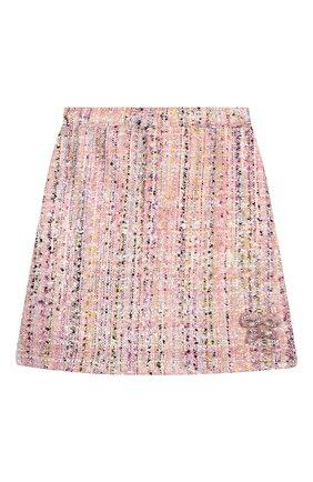 Детская твидовая юбка EIRENE разноцветного цвета, арт. 202168   Фото 1