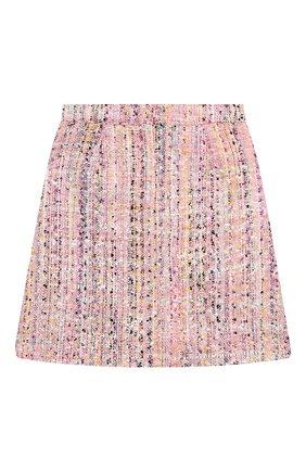 Детская твидовая юбка EIRENE разноцветного цвета, арт. 202168   Фото 2