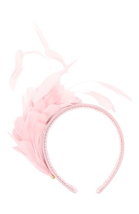 Детского ободок EIRENE розового цвета, арт. H202105 | Фото 1