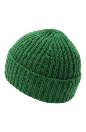 Детского шерстяная шапка ACNE STUDIOS зеленого цвета, арт. D40001 | Фото 2