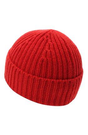 Детского шерстяная шапка ACNE STUDIOS красного цвета, арт. D40001 | Фото 2