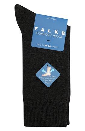Детские носки FALKE темно-серого цвета, арт. 10488. | Фото 1
