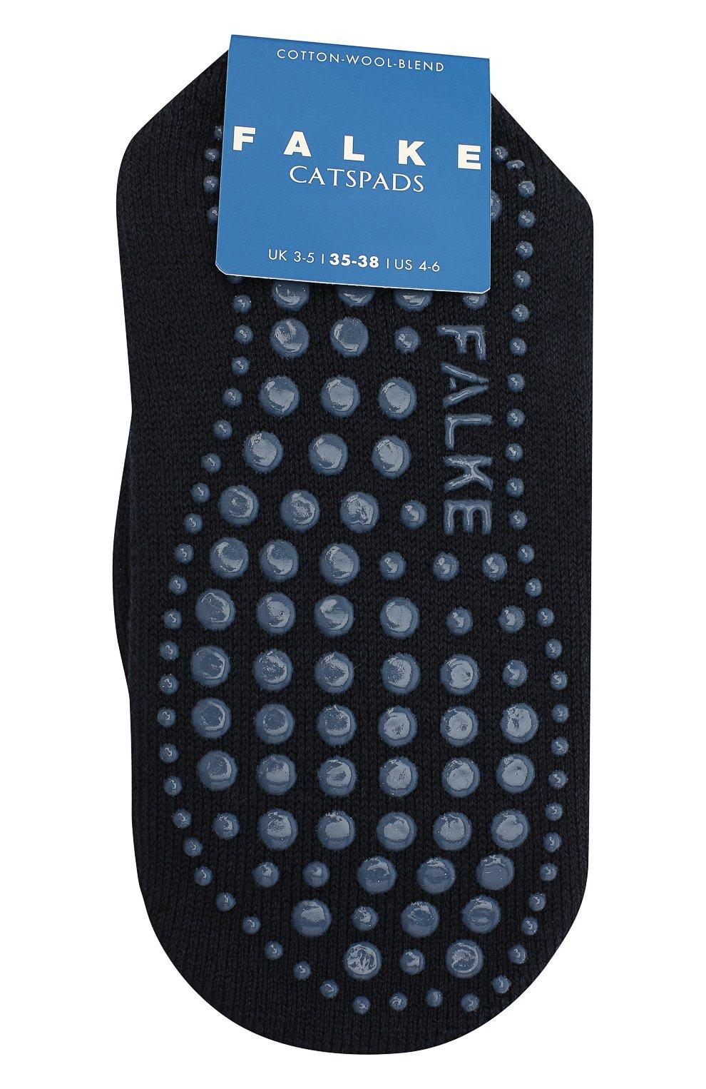 Детские хлопковые носки FALKE темно-синего цвета, арт. 10500. | Фото 1