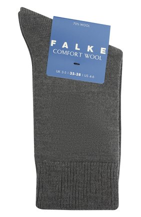 Детские носки FALKE светло-серого цвета, арт. 10488. | Фото 1